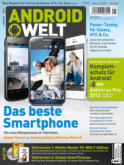 AndroidWelt 01/2013