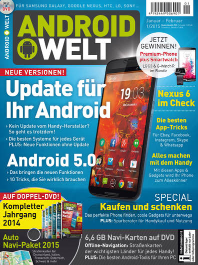 AndroidWelt 01/2015