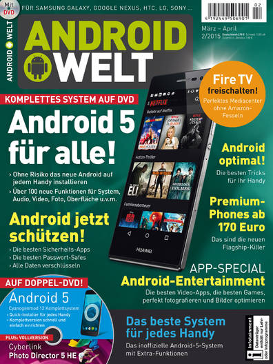 AndroidWelt 02/2015