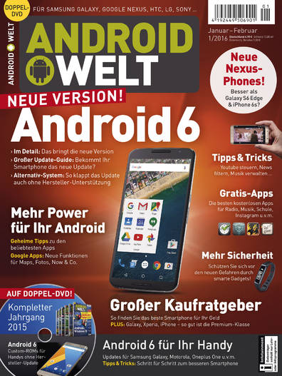 AndroidWelt 01/2016