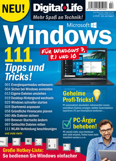 Digital Life »Windows« 02/2018