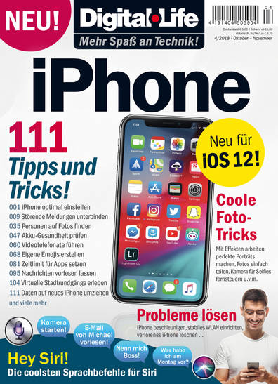 Digital Life »iPhone« 04/2018