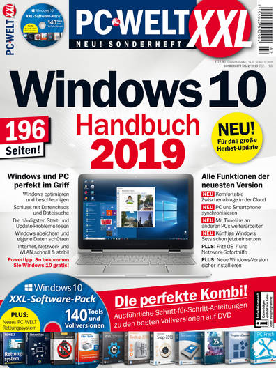 PC-WELT XXL »Windows 10« 02/2019