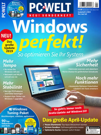 PC-WELT Sonderheft »Windows perfekt!« 05/2019