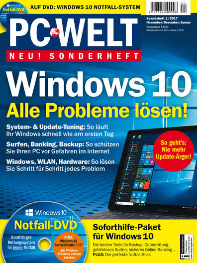 PC-WELT Sonderheft »Windows 10« 01/2017