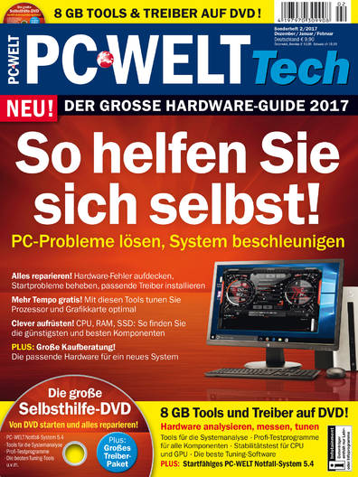 PC-WELT Tech »Hardware-Guide 2017« 02/2017