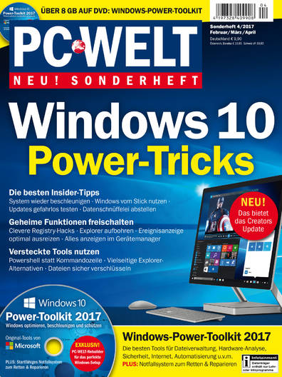 PC-WELT Sonderheft »Windows 10« 04/2017