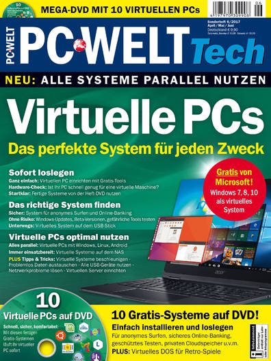 PC-WELT Tech »Virtuelle PCs« 06/2017