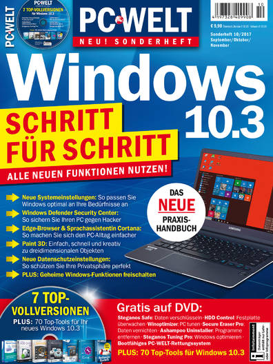PC-WELT Sonderheft »Windows 10.3« 10/2017