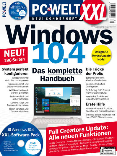 PC-WELT XXL »Windows 10.4« 01/2018