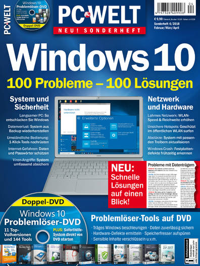 PC-WELT Sonderheft »Windows 10« 04/2018