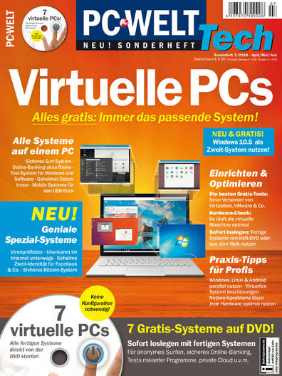 PC-WELT TECH »Virtuelle PCs« 07/2018