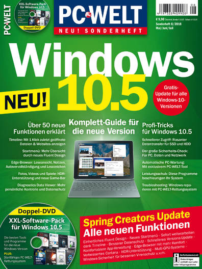 PC-WELT Sonderheft »Windows 10.5« 08/2018