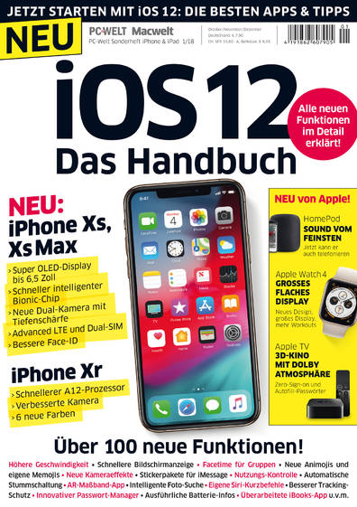PC-WELT Sonderheft iPhone & iPad 01/2018