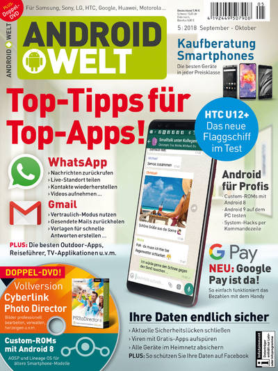 AndroidWelt 05/2018