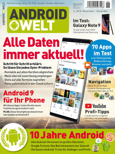 AndroidWelt 06/2018