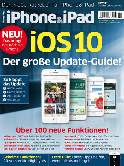iPhone&iPad Sonderheft �iOS 10� 01/2016