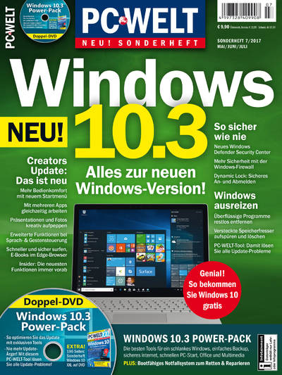 PC-WELT Sonderheft »Windows 10.3« 07/2017
