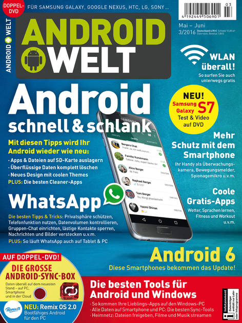 AndroidWelt 03/2016