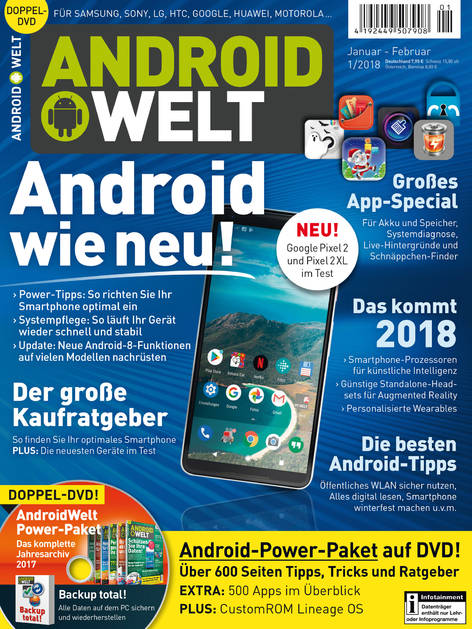 AndroidWelt 01/2018