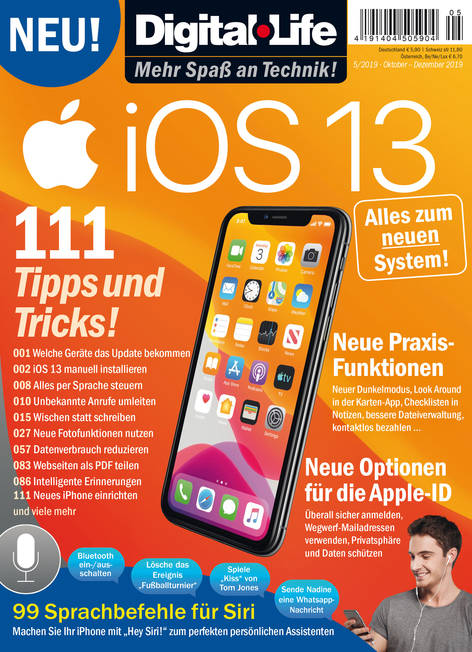 Digital Life »iOS 13« 05/2019