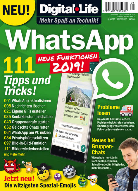 Digital Life »WhatsApp« 05/2018