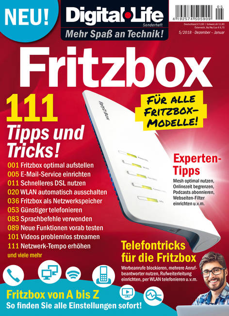 Digital Life Sonderheft »Fritzbox« 05/2018