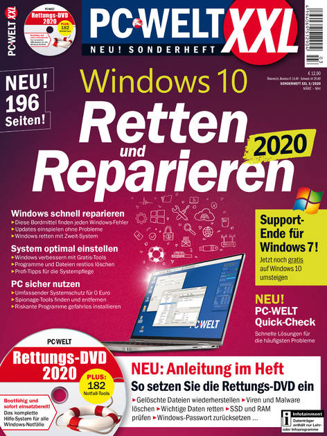 PC-WELT XXL »Windows 10« 03/2020