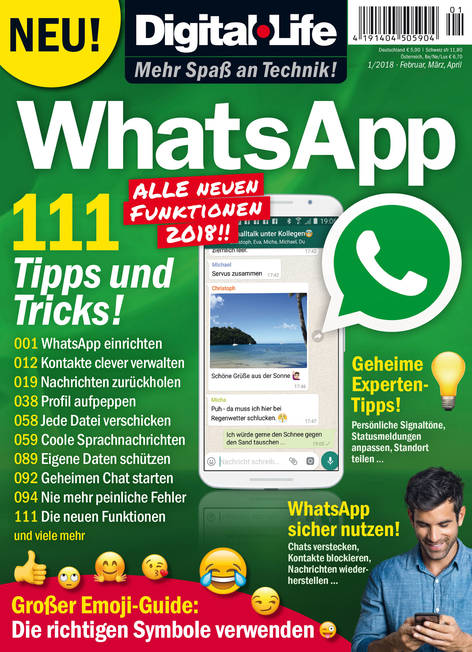 Digital Life »WhatsApp« 01/2018