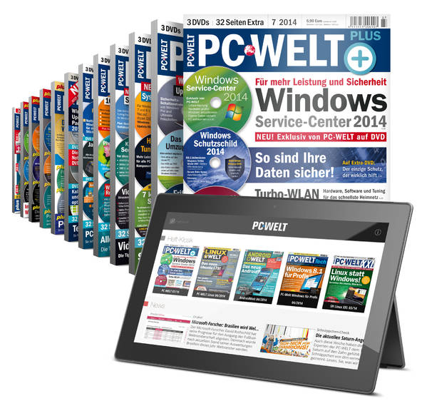 PC-WELT Plus Studentenabo