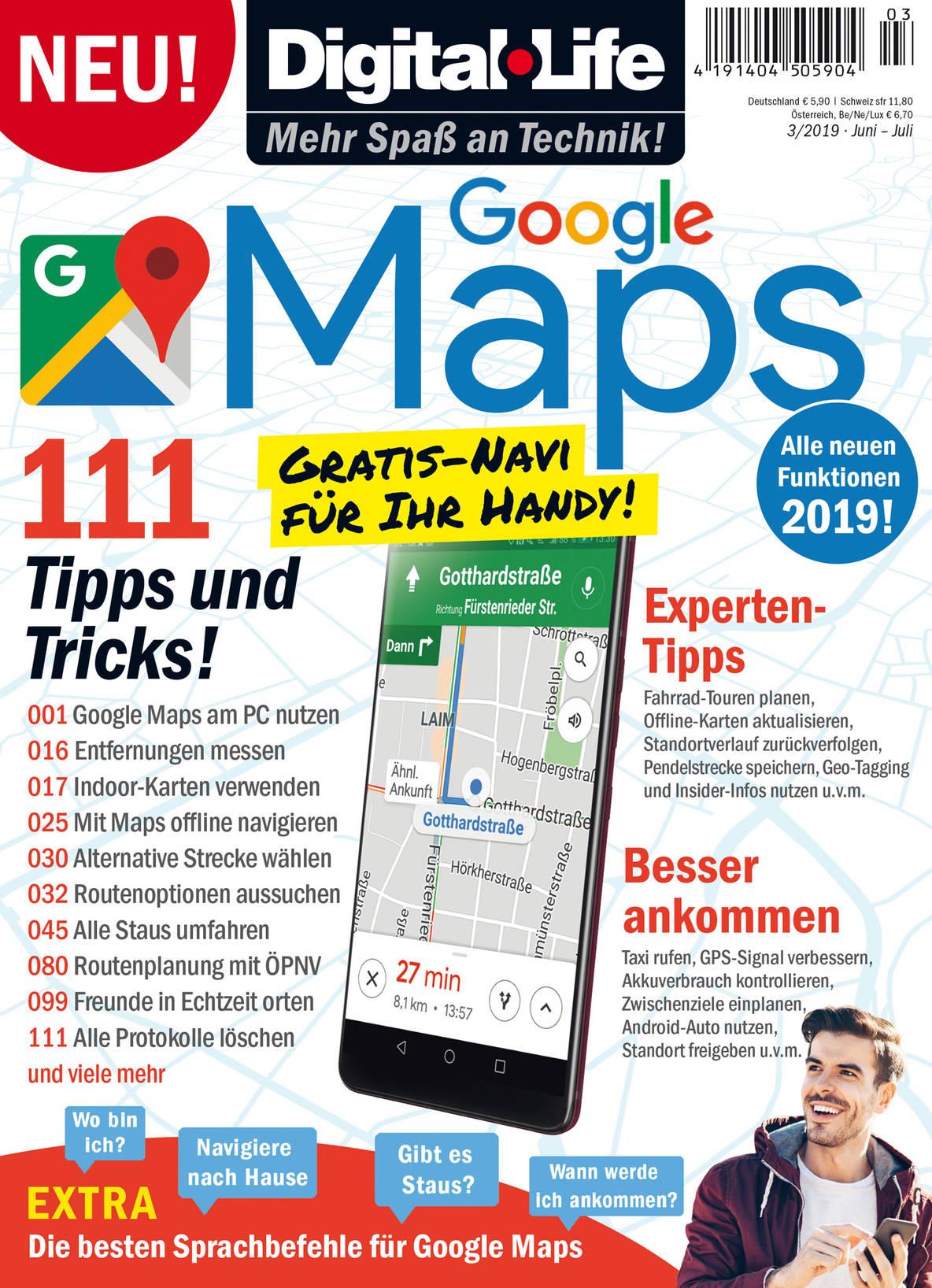 Digital Life Google Maps 03 2019 Sonderausgaben E Paper Als