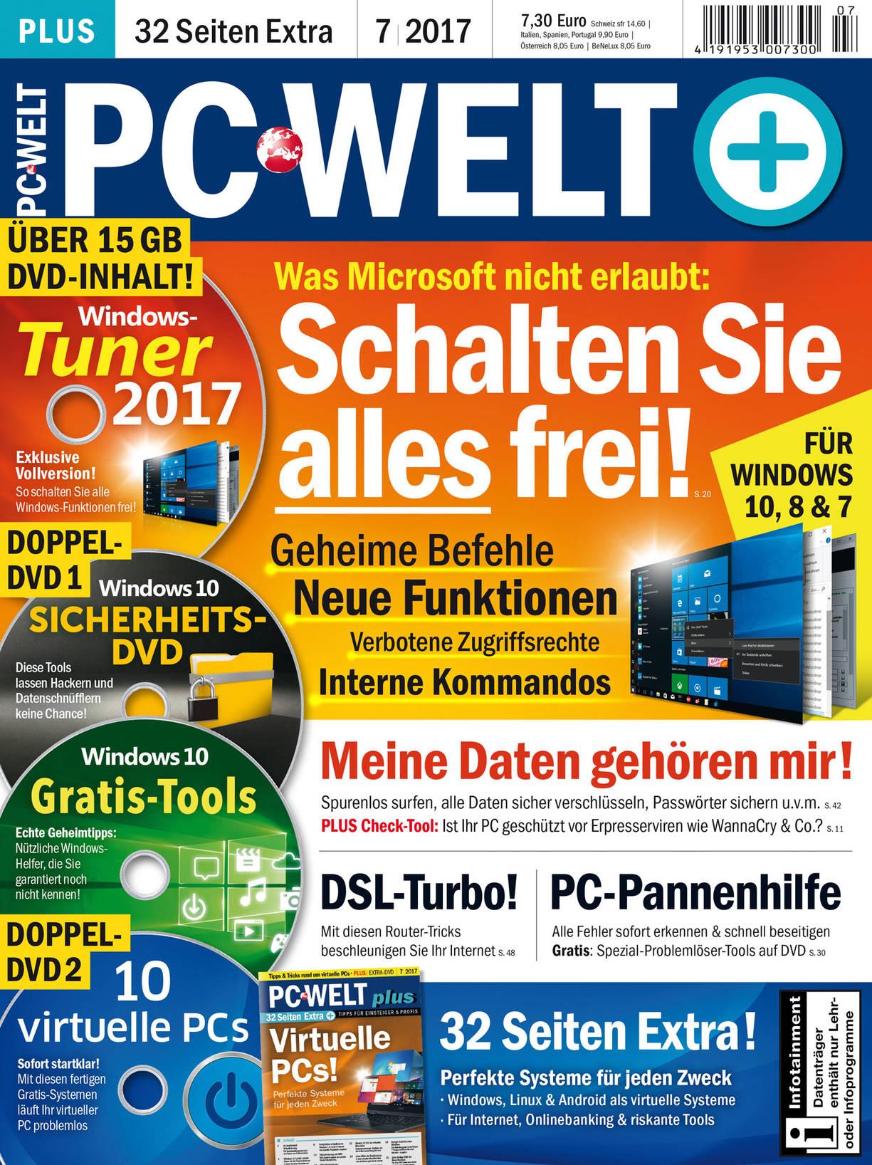 PC-WELT Plus 07/2017 · Einzelausgaben PC-WELT · IDG Shop